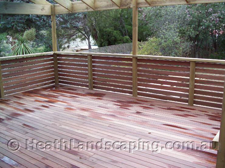 Heath Landscaping Gallery Deck
