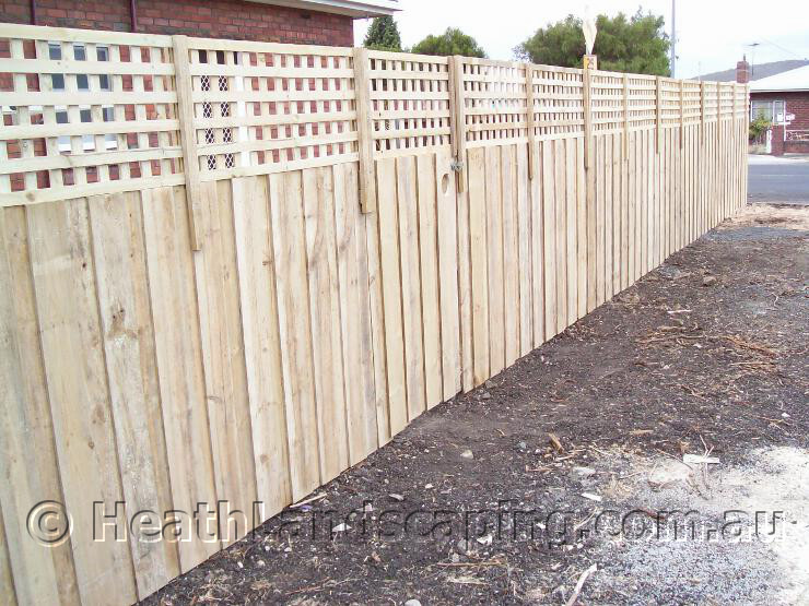 Heath Landscaping Fencing