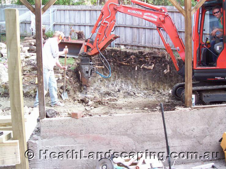 Heath Landscaping Excavations