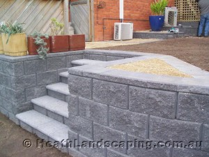 Stairs, Paving and Turfing Retaining Walls Heath Landscaping