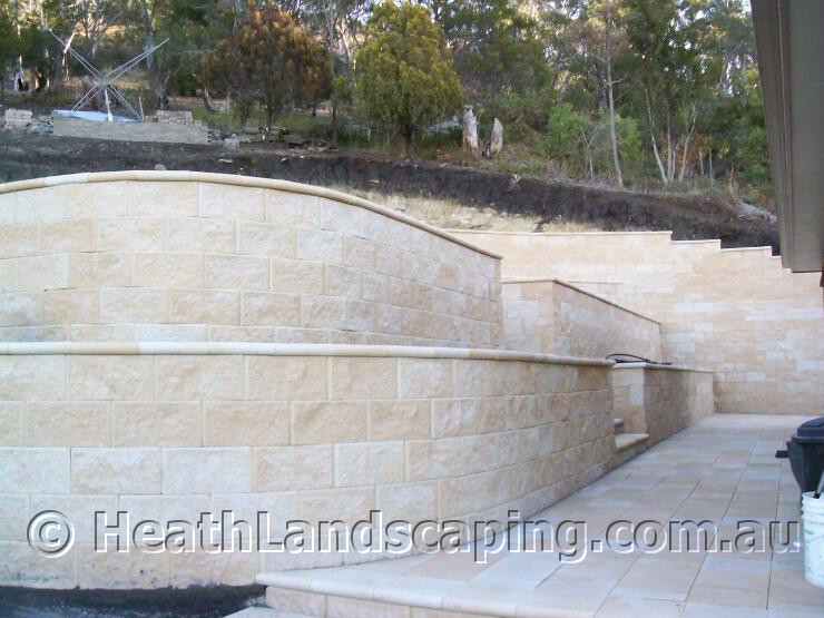Heath Landscaping Retaining Walls