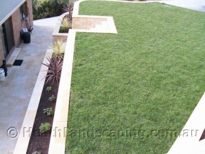 Turfing in Hobart Tasmania by Heath Landscaping
