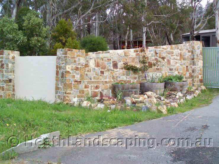 Heath Landscaping Stone Masonry