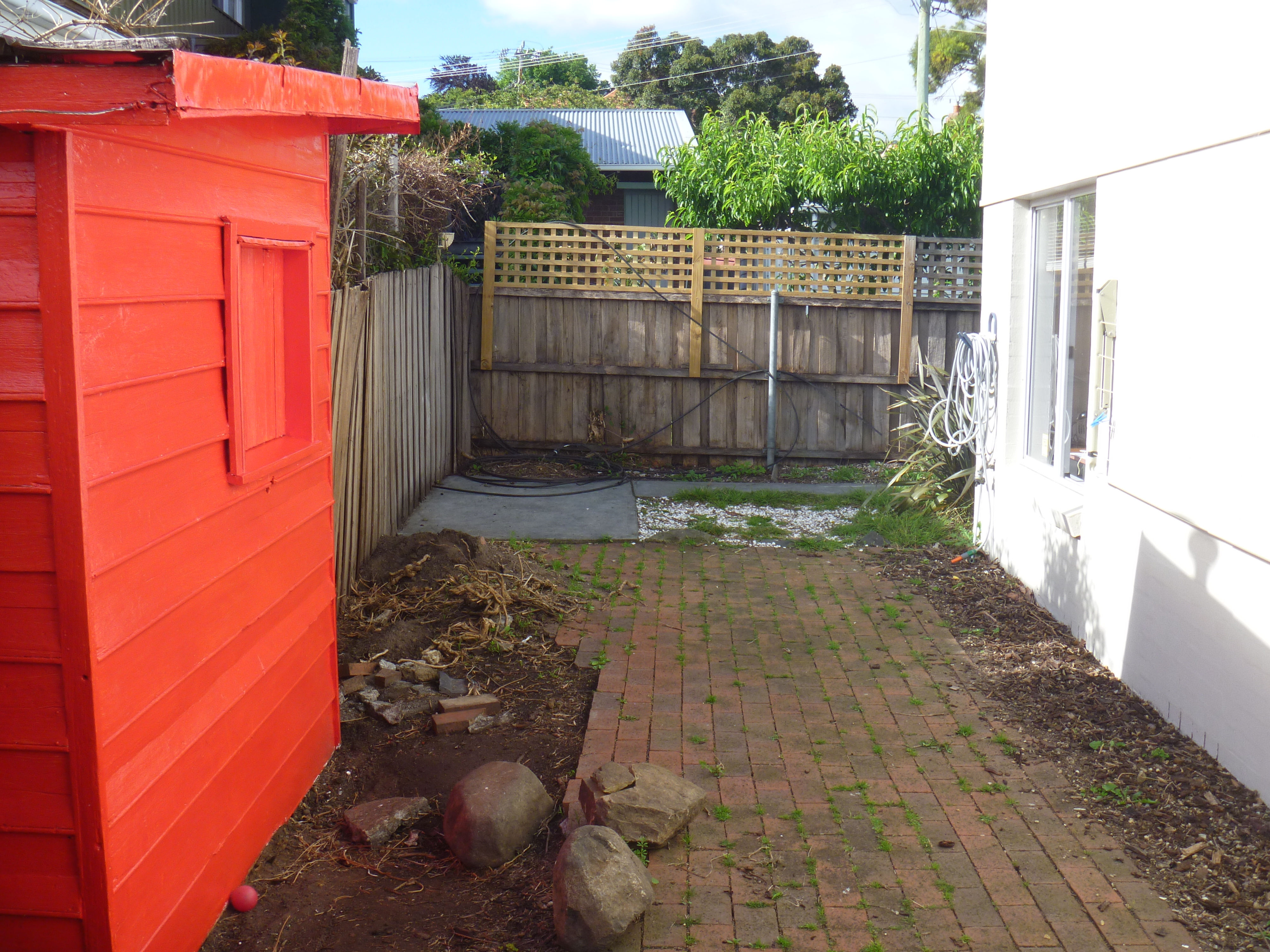 Landscaping Rock Hobart : New town fencing and paving by heath landscaping hobart tasmania