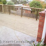 Landscaping Constructed by Heath Landscaping Tasmania.