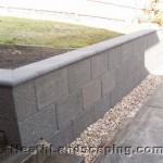 Driveway Repair and Retaining Wall by Heath Landscaping Southern Tasmania.