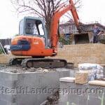 Retaining Wall Heath Landscaping Hobart Tasmania