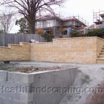 Retaining Wall Heath Landscaping Hobart Tasmania