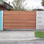 Retaining Wall, Driveway and Block Wall Heath Landscaping Hobart Tasmania.