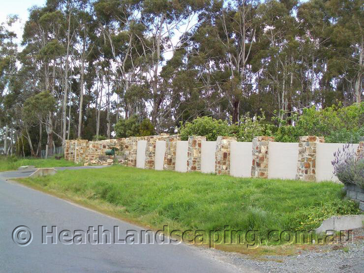 Landscaping Rock Hobart : Heath landscaping is a tasmanian owned and operated