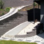 New House Landscaping constructed by Heath Landscaping Hobart Tasmania.