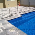 Pool Paving Heath Landscaping Tasmania Small Paving Job near Pool Heath Landscaping Hobart Tasmania.