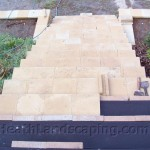 Retaining Wall and Stair Capping