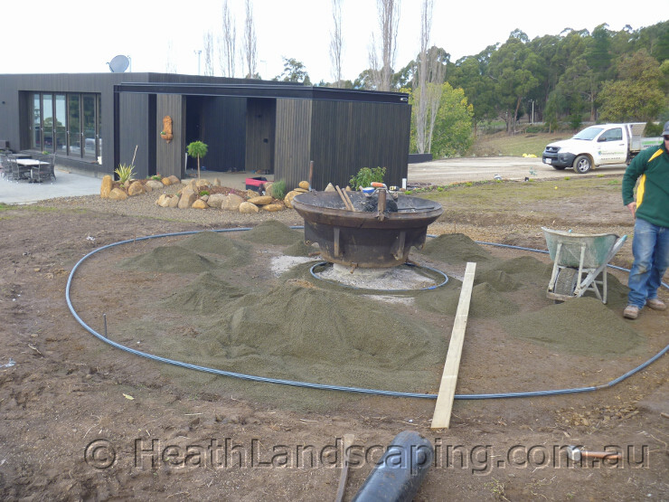 Landscaping Rock Hobart : Latest heath landscaping hobart tasmania jolian