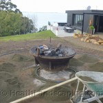 Flower Pot Paving Job by Heath Landscaping Tasmania June 2014 Work pics 023