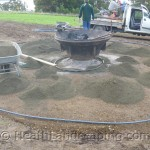 Flower Pot Paving Job by Heath Landscaping Tasmania June 2014 Work pics 024