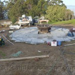 Flower Pot Paving Job by Heath Landscaping Tasmania June 2014 Work pics 025