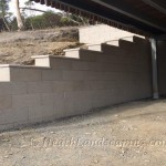 Retaining Wall Under House